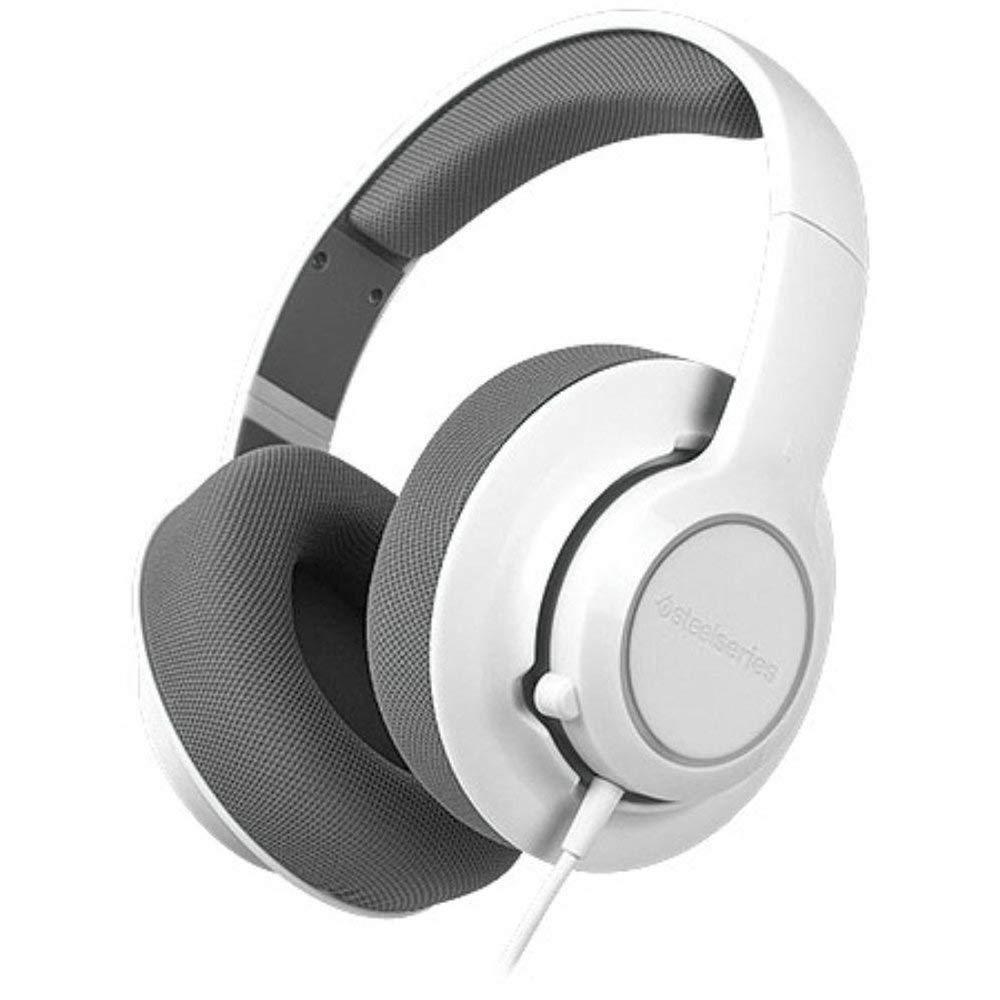 Купить SteelSeries Siberia Raw Headset with built-in Microphone, White PC/MAC (61411)