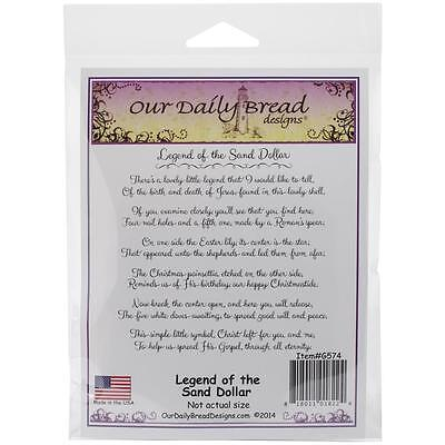 Our Daily Bread Designs Cling Stamps Legend Of The Sand Dollar Story