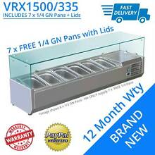 1500mm Pizza Salad Sandwich Cooling Counter Top Fridge with 7 x F Darra Brisbane South West Preview