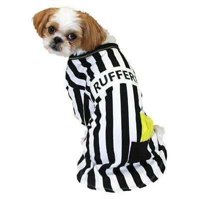 Boots & Barkley Pet Dog Evergreen Rufferee Football Halloween Party Costume  (Dog Halloween Party)