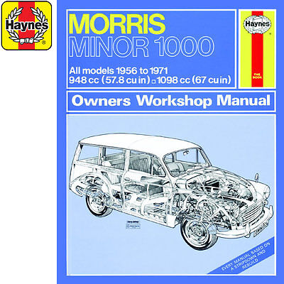 [0024] Morris Minor 1000 1.0 1.1 Petrol 56-71 (up to K Reg) Haynes Manual