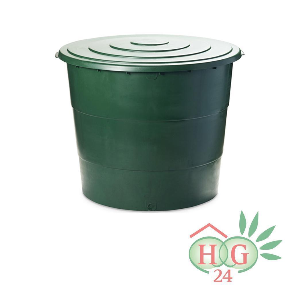 Regentonne 500l Wasserbehälter Wassertank Regenfass Regenwassertank Liter