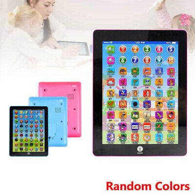 Kid Children Tablet Mini Pad Educational Toys Gift for Toddler Learning English