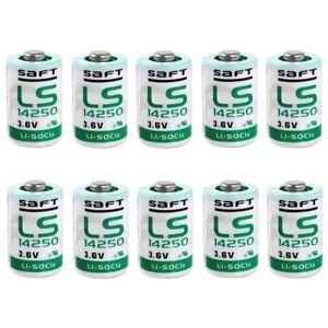 50-X-Pile-Lithium-Saft-LS14250-1-2AA-3-6Volt-3-6V-Lithium-Thionylchlorid