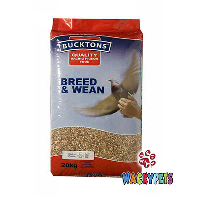 PIGEON WEANING FOOD / SEED: Bucktons Breed & Wean 20kg. For Weaning (BUC001)