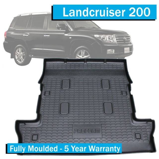TO FIT: Toyota Landcruiser 200 Series (2007-Current) - Boot Liner / Cargo Mat