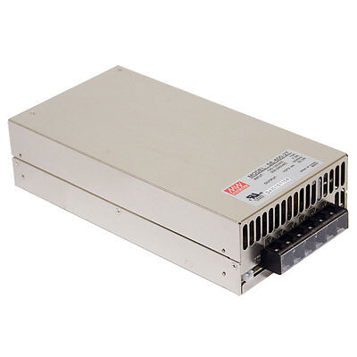 Mean Well Se-600-27 Ac To Dc Power Supply Single Output 27 Volt 22.2 Amp 599.4 W