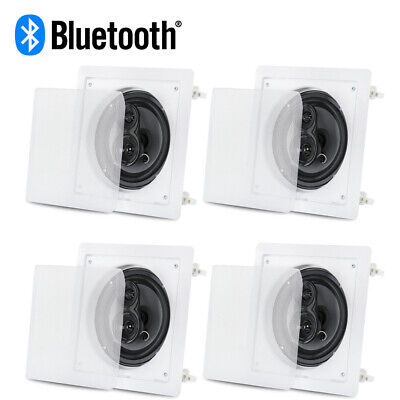 """Acoustic Audio CS-I63S Bluetooth In Ceiling Speakers with 6.5"""" Woofers 2 Pair"""