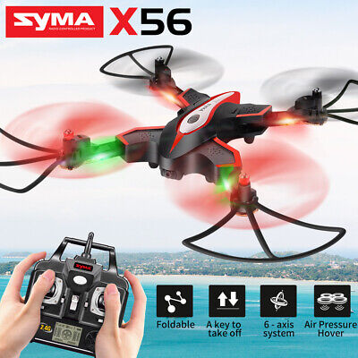 Syma X56 RC Drone Folding 6-Axis-Gyro Pocket 2.4Ghz 4CH Quadcopter Aircraft Toy