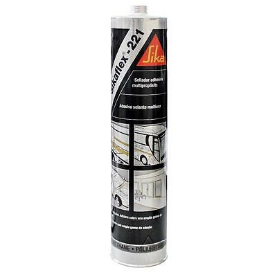 Sikaflex 221 WHITE Adhesive Sealant for Campervans Motorhomes Boats