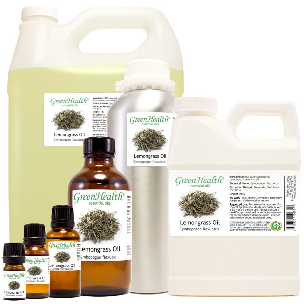 lemongrass essential oil 100 percent pure many