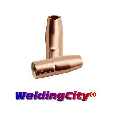 Arc Weld by Masterweld Pack of 169-715 Miller Style M-Series Nozzle Flush Mount 1//2 Bore 2