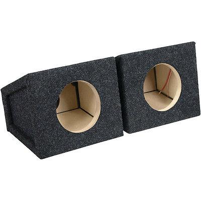 Atrend 6.5 Inch Sealed Car Speaker Box Enclosure | Pair