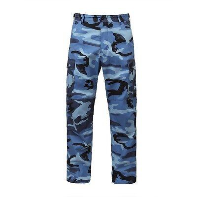 Rothco 7882 Sky Blue Camo BDU Pants Bdu Sky Blue Camo