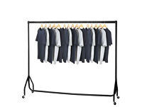 New Heavy Duty Clothes Rail Garment Rail 6ft Long x 5ft High SUPERIOR QUALITY - £20