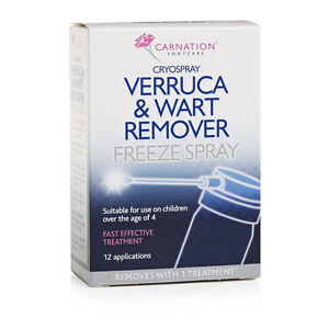 Carnation Verruca and Wart Remover Freeze Spray 50ml