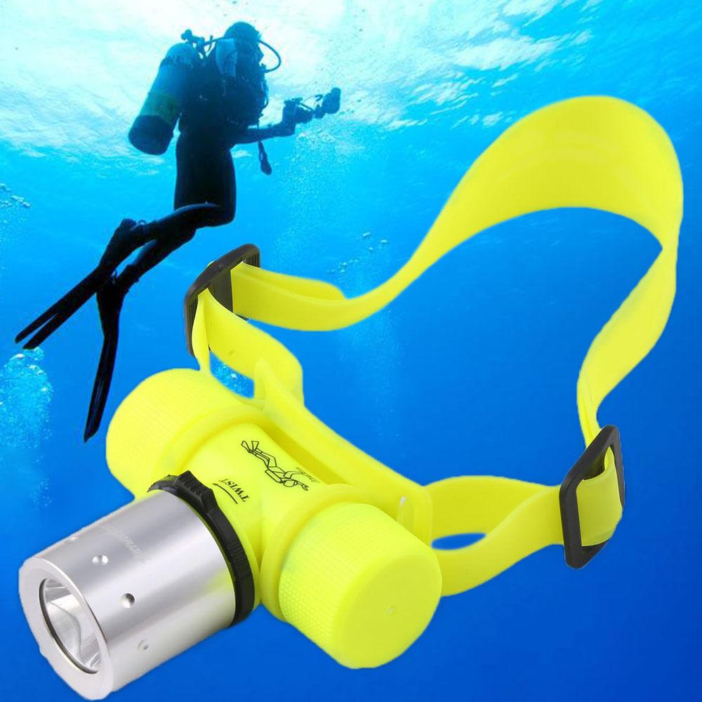 Underwater 50m 20000Lumens T6LED Scuba Diving Hiking Flashlight Torch Light Lamp