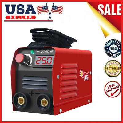 Mini Igbt Arc Welding Machine Mma Stick Electric Welder 110v 20-250a Dc Inverter