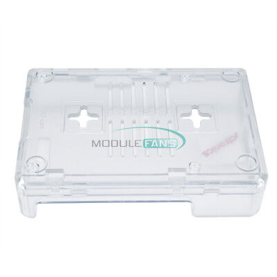 Best Selling Clear Case for Raspberry Pi 3 Model B Clear by SB Components
