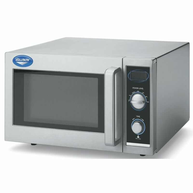 Vollrath Microwave Oven With Manual Controls 1000 Watt High-Volume  (40830)
