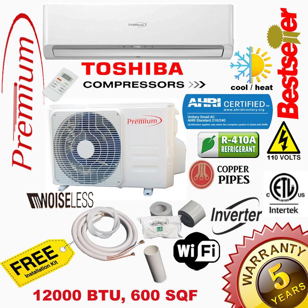 Premium Mini Split 12000 BTU 17 SEER INVERTER System Ductles