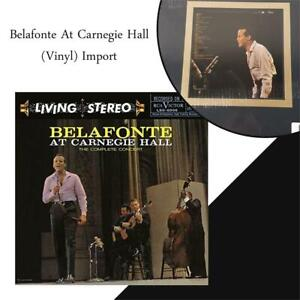 NEW Belafonte At Carnegie Hall (Vinyl) Import Condtion: New, LP Record