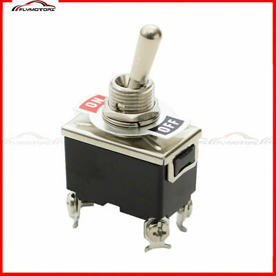 1 Pcs Heavy Duty 20a 125vac On-off Dpst 2 Position 4 Terminal Toggle Switch Car