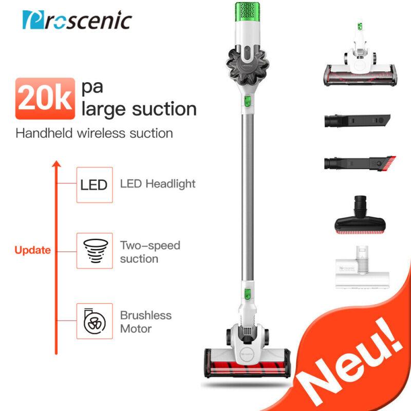 Proscenic P9 Cordless Vacuum Cleaner Handheld Pet Hair Bagless 120aw Auto Vacuum