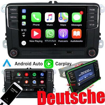 Autoradio RCD330 Deutsch CarPlay Android Auto Für VW GOLF5 6 POLO CADDY EOS CC