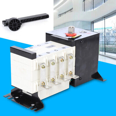4p 160a Dual Power Automatic Transfer Switch For Generator Changeover Switch New