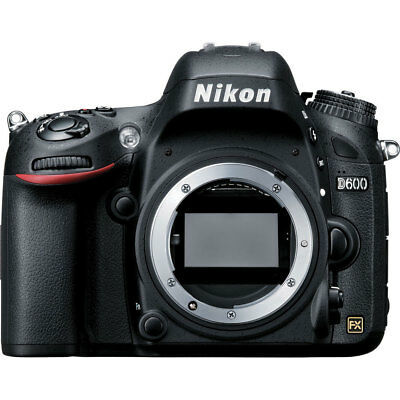 Nikon D600 24.3MP CMOS FX-Format Digital SLR Camera Body (Black) - Super Deal! for sale  Shipping to Canada