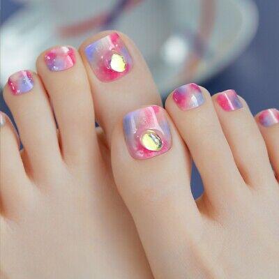 [ohora] Gel Nail Pedicure art Sticker patch 32pcs P Celebrity UV Nail