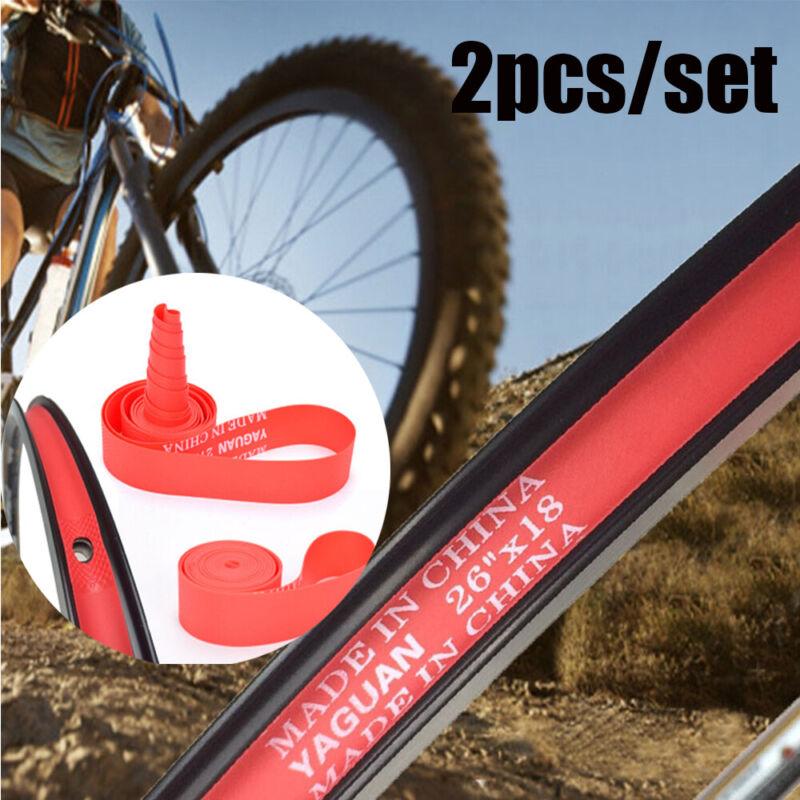 Top Rim Liner Red Pad Bike Inner Tube Bicycle Tire Liner  Anti Puncture Tape