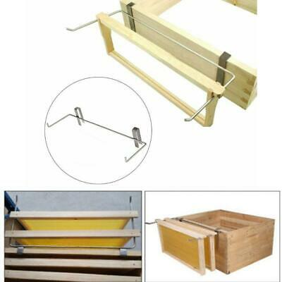 Stainless Steel Beekeeping Frame Holder Bee Hive Perch Beekeeper Equipment Kit