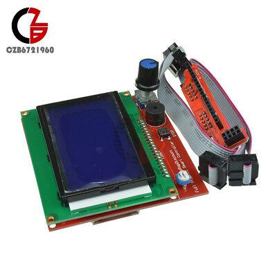 12864 Lcd Display Controller Adapter Sd Reader 3d Printer Ramps1.4 Reprap Mendel