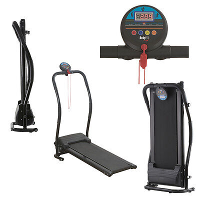 Folding Electric Treadmill Running Machine Walking Fitness Exercise 500W Compact