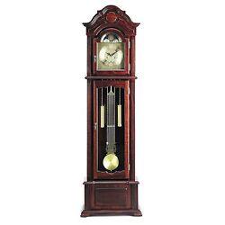 Acme Furniture 01402 A Meit Grandfather Clock, Dark Walnut Finish NEW