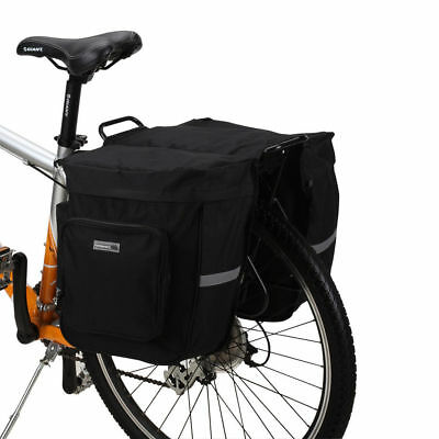 Roswheel 30L Cycling Bicycle Double Side Rear Rack Tail Seat Bag Pannier