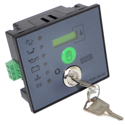 702K-AS-HC Auto Start Generator Controller Board Panel Free Shipping
