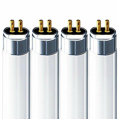 Luxrite F14T5/830 14W 22 Inch T5 Fluorescent Tube Light 3000K 1140lm G5 4-Pack, used for sale  Rahway