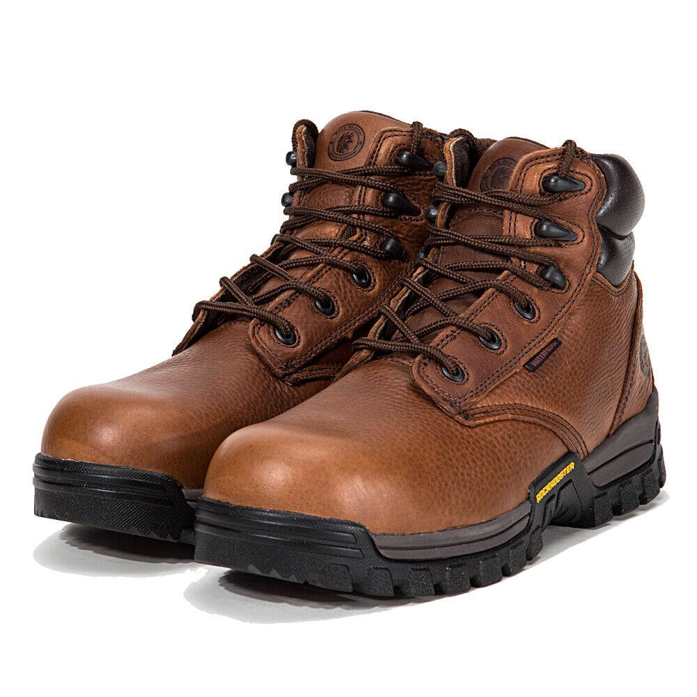 ROCKROOSTER Men's Work Boots Composite Toe Waterproof Safety