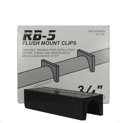 100 58 Pex Flush Mount Clips F6od Peter Mangone Rb-5 Cpvc
