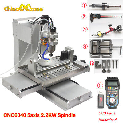 6040 5axis CNC Router Engraving Machine Pillar Type Metal Copper Milling Machine for sale  Shipping to Canada