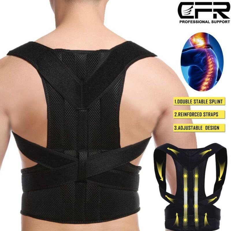 Posture Corrector Back Support Brace Clavicle Full Neck Shou