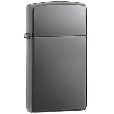 Zippo Slim Windproof Black Ice Lighter, 20492, New In Box