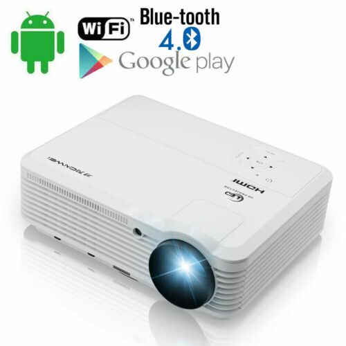 CAIWEI Android WIFI Home Theater Projector Blue-tooth Wirele