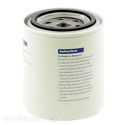 Filter Ersatzkartusche für Kraftstofffilter Benzinfilter Bootsmotor Aussenborder