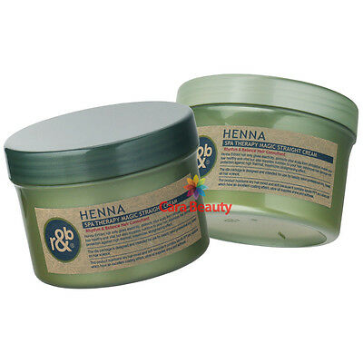 [Rebonding Cream] HENNA Spa Therapy Magic Straight Cream 500g+500g