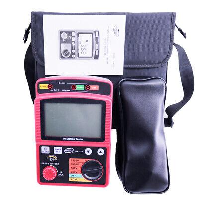 Gm3123 5000v High Voltage Insulation Resistance Tester Gowe Insulation Tester