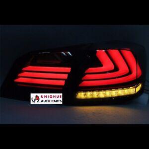honda accord sedan 2014 2015 smoke type bmw style led tail lights rear lamps. Black Bedroom Furniture Sets. Home Design Ideas